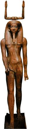 Ka faraona Hora, postava faraona je vlastne duchovny dvojnik krala