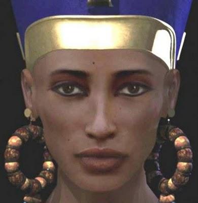 dcéra Amenhotepa III. a Teje, sestra a manželka Achnatona, matka Tuta