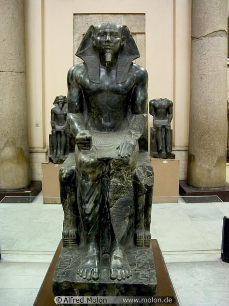 kráľ Rachef (Chefren)